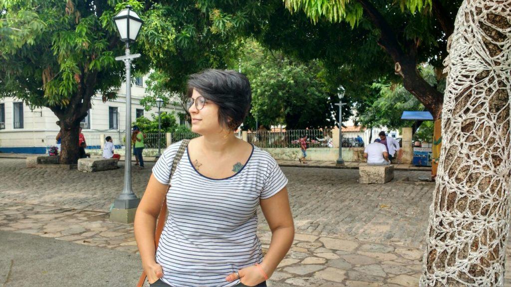 Nordestina. Maranhense. Designer. E uma Transformadora Social em contínua construção.(Foto: Laíza Amorim)