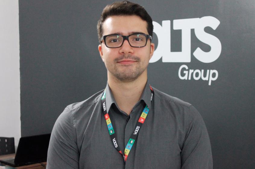 Esse é o Lucas, CEO e idealizador do Volts. (Foto: Divulgação)