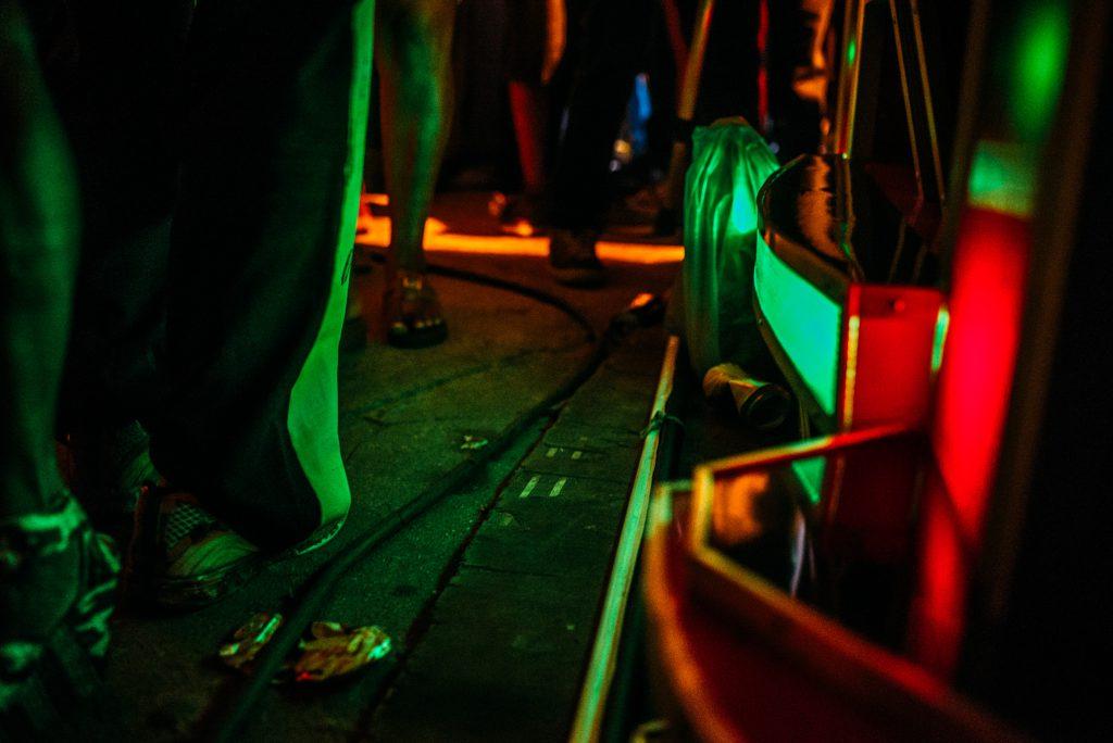 As cores do reggae.(Foto: Ingrid Barros / Sobre o Tatame)